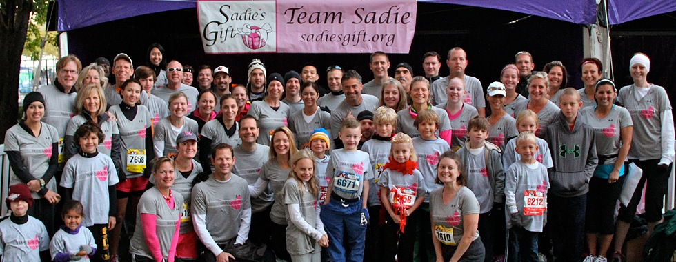 Register NOW for Team Sadie!