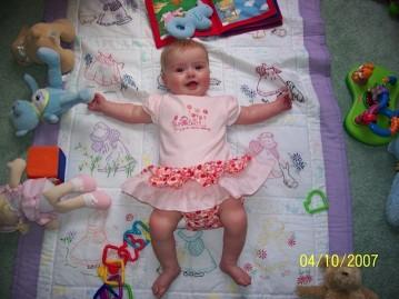 Healthy Baby Sarah